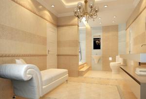 70平米小户型卫生间吊顶背景墙设计装修效果图