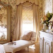 田园气氛的卧室飘窗