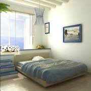 卧室清新简约装饰