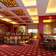 酒店宴会厅地毯展示