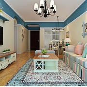 优美精巧的客厅