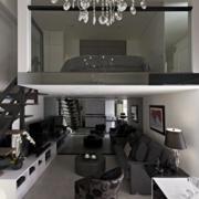 简约风格复式楼梯装饰