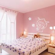 粉色浪漫卧室图片