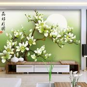 田园风格背景墙效果图