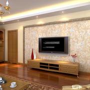 自然风格电视柜效果图