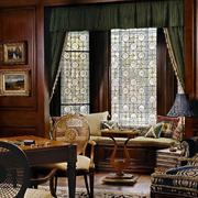 美式古典飘窗