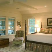 美式简约风格卧室吊顶装饰