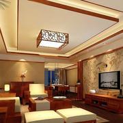 大户型新中式客厅欣赏