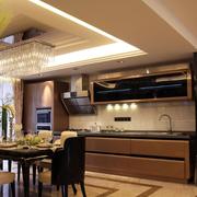 灰色调厨房装修设计