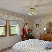 时尚风格卧室窗帘设计
