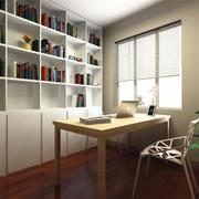 层次型书柜装修设计