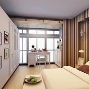 卧室条纹壁纸欣赏