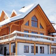 雪地里的大别墅