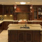 大户型别墅厨房橱柜