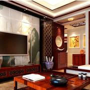 传统型背景墙效果图