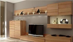 客厅实木电视柜装修效果图