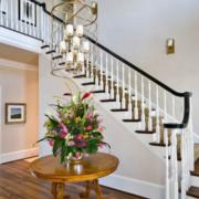 别墅白色调楼梯装修