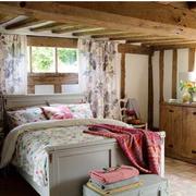 大户型卧室窗帘设计
