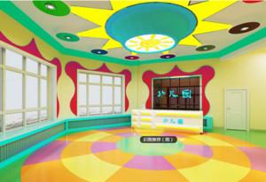 高级幼儿园大堂设计效果图