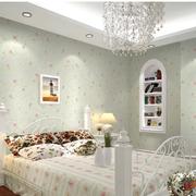田园风格卧室窗帘设计