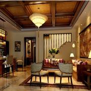 东南亚风情客厅图片