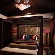 复式楼古典优雅卧室
