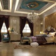 卧室地板砖效果图片