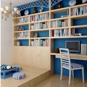 榻榻米组合书柜