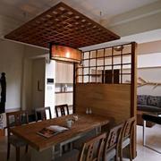 简朴型餐厅装修图片
