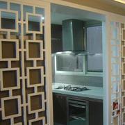 厨房中式隔断门
