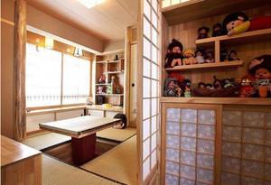 个性时尚的日式风格榻榻米装修效果图