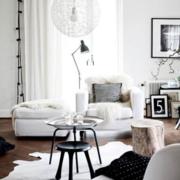 客厅白色纯洁客厅