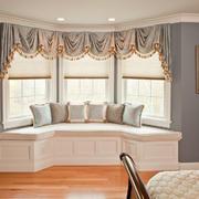 简欧精美的卧室飘窗