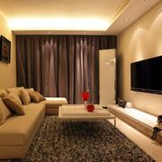 灰色调客厅设计图片