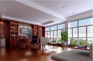 新中式风范的办公室