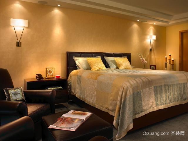 30平米简欧个性单身公寓卧室装修效果图