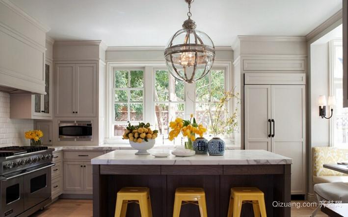 中小户型现代开放式风格厨房设计装修效果图