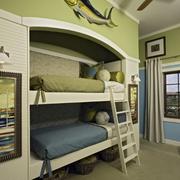 小户型儿童房绿色设计