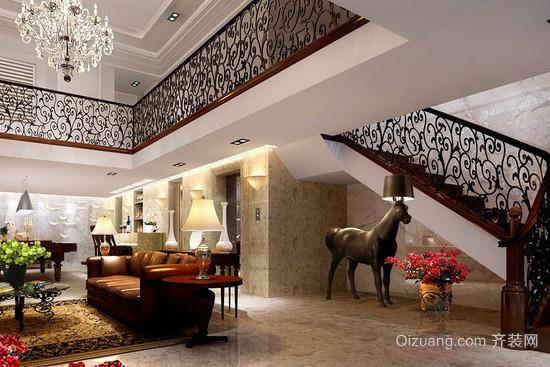 10款复式跃层楼梯装修效果图
