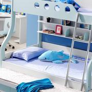 小户型儿童房蓝色床