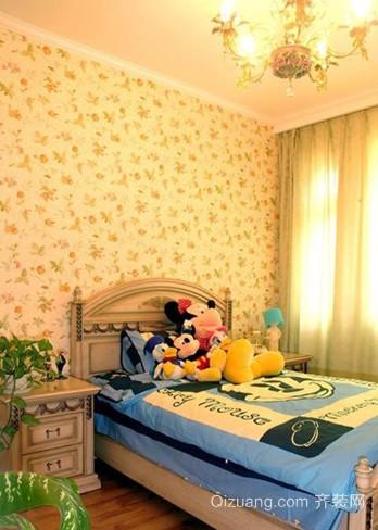 奇幻世界大户型美式风格儿童房设计装修效果图