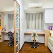 儿童卧室隔断欣赏