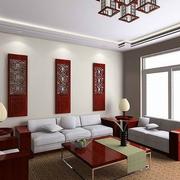 中式家装飘窗图片