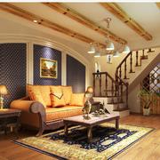 跃层式住宅客厅图片