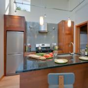 现代宜家厨房吧台