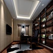 现代温馨书房