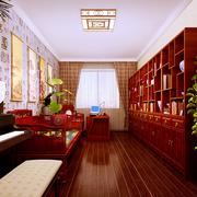 大户型中式书房