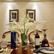 中式风格客厅餐桌图片