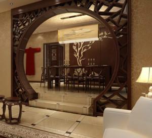 三室两厅两卫错层餐厅装修效果图