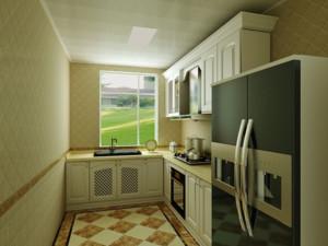 30平米欧式精美小厨房装修效果图